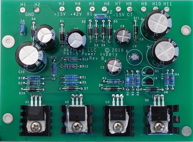 update my dynaco storefor a few years now, some of you have been asking for improvement kits for the pat 5 preamp a good power supply is critical to good sound, and the original