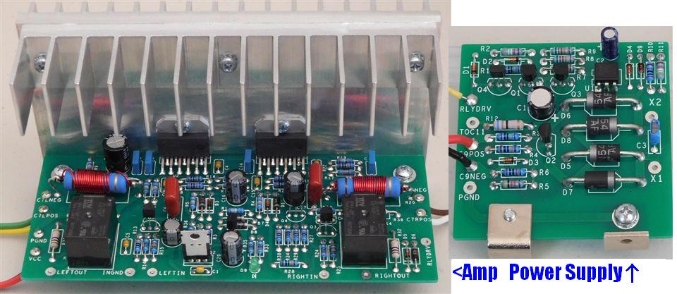 PWRAMP80 kit replaces the power supply in a SCA80Q or Stereo 80