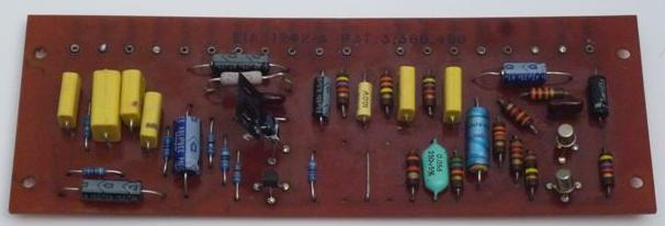 One PAT-4 PCB modified with Line Stage Replacement Components