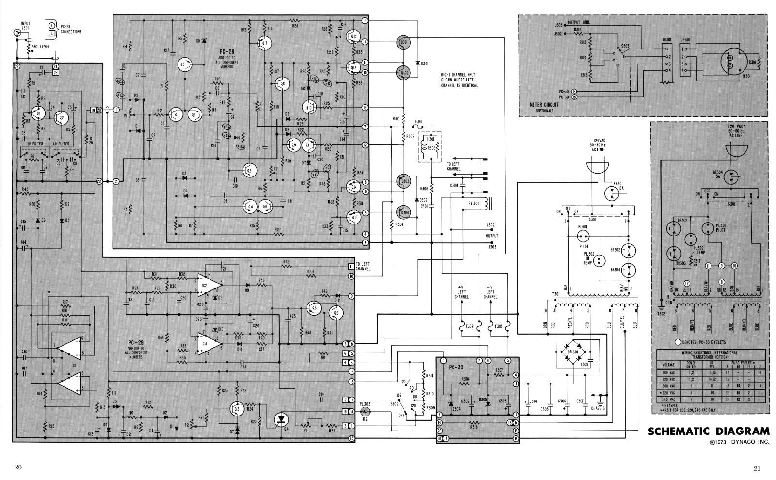 Stereo 400 416 And 410 Fan Relay Wiring Diagram On Dual Electric Contrast This With The Pc 29 Schematic In Manual That I Have Note Its A Large High Res File At About 5 Megs So Will Take Little While To