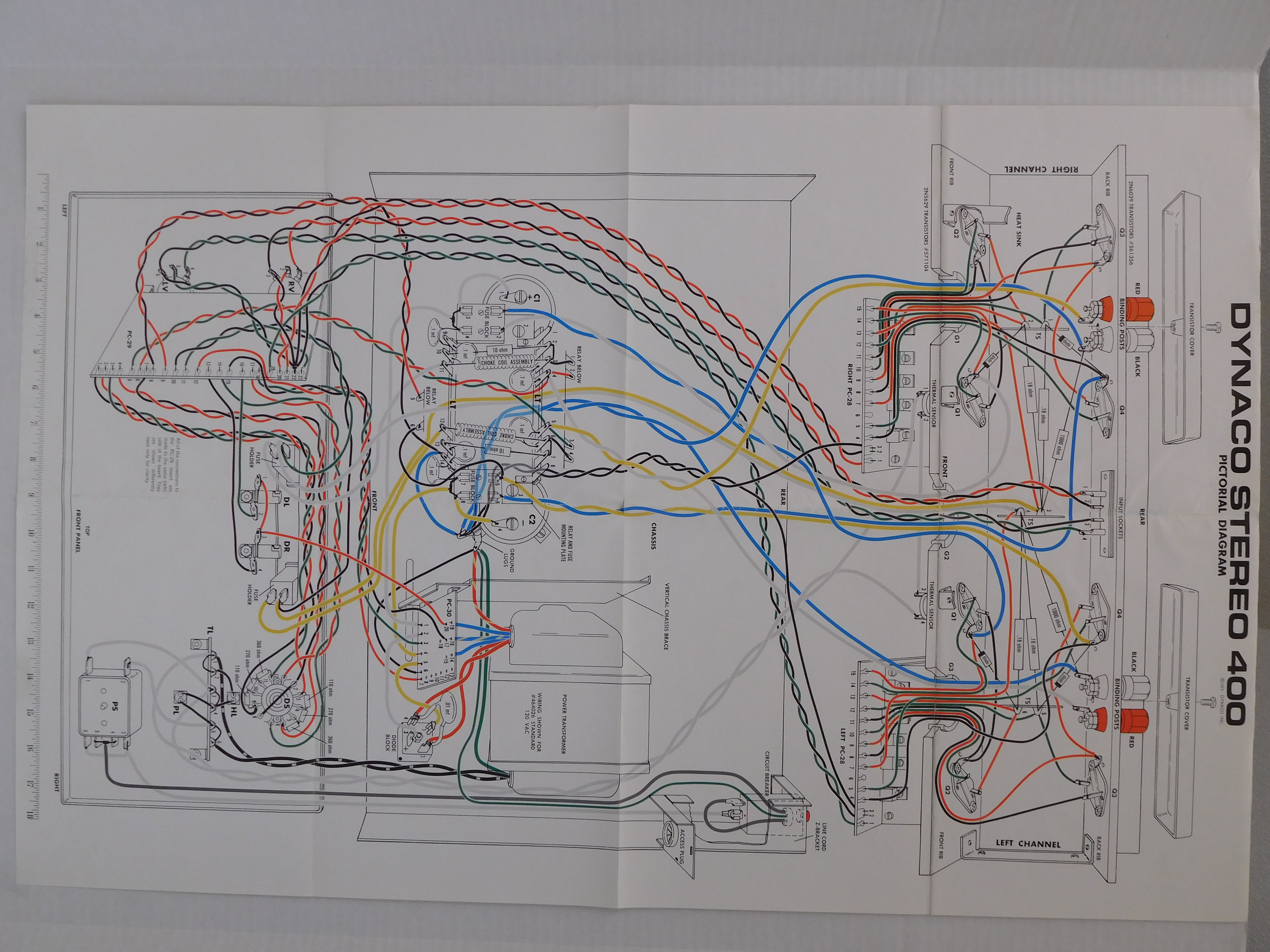Stereo 400 416 And 410 4 Ohm Wiring Diagram Picture Of The Whole