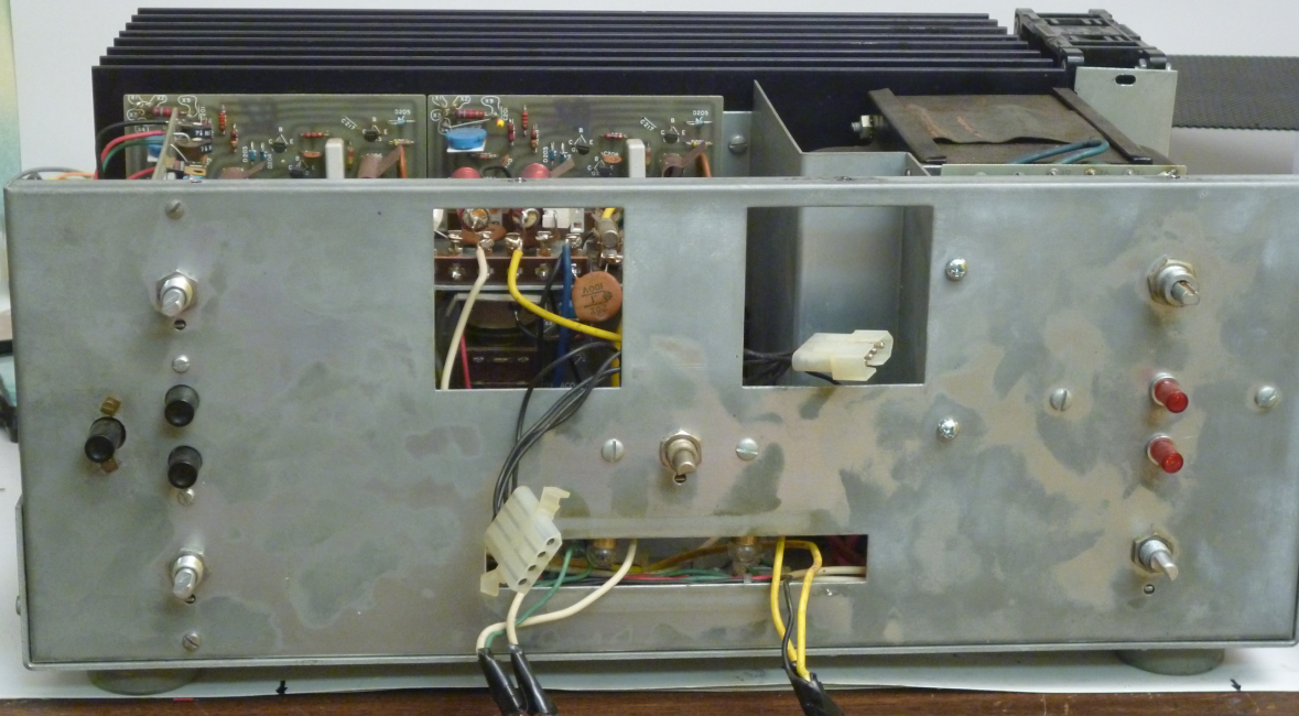 Stereo 400 with escutcheon plate removed