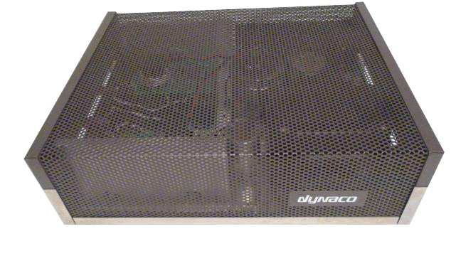 Side View of a Dynaco Stereo 120 with Super Heatsinks and Updatemydynaco Modules